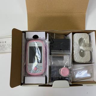 エヌティティドコモ(NTTdocomo)のキッズケータイHW-01Dドコモ(携帯電話本体)