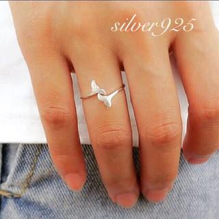 シールームリン(SeaRoomlynn)のsilver925 マーメイドリング シルバー 指輪 リング シルバー925(リング(指輪))
