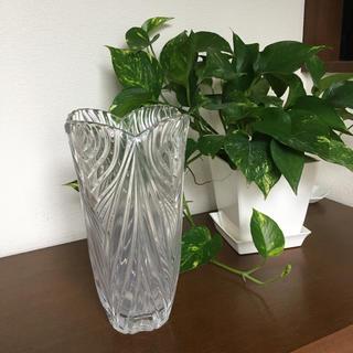 ノリタケ(Noritake)のノリタケ クリスタル花瓶 未使用(花瓶)