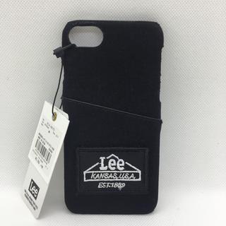 サミールナスリ(SMIR NASLI)の新品 Lee×SMIRNASLI iPhoneケース  6/7/8対応 ブラック(iPhoneケース)