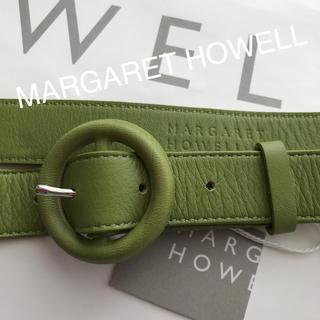 マーガレットハウエル(MARGARET HOWELL)のMARGARET HOWELLレザーベルト(ベルト)