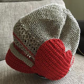ヴィヴィアンウエストウッド(Vivienne Westwood)のヴィヴィアンウエストウッドサマー帽子(ハンチング/ベレー帽)