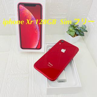 アイフォーン(iPhone)のiphone Xr 128GB  Sim フリー (スマートフォン本体)