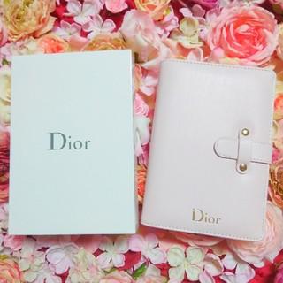クリスチャンディオール(Christian Dior)の【非売品】ディオール 手帳(ノート/メモ帳/ふせん)