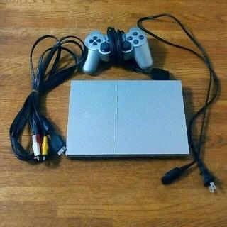 プレイステーション2(PlayStation2)のPS2 90000 本体シルバー セット(家庭用ゲーム機本体)