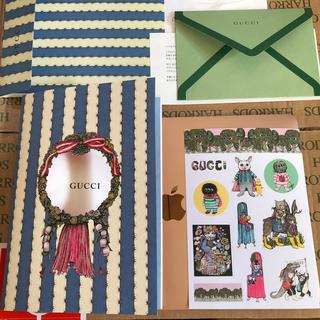 グッチ(Gucci)のグッチ ヒグチユウコ  非売品 ノート シール ノベルティ  ニャンコ sチャン(その他)