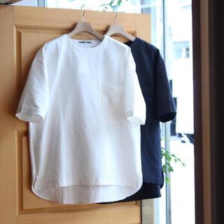 ワンエルディーケーセレクト(1LDK SELECT)の☆未使用☆1ldk購入 HOMFEM WIDE BODY WOVEN SHIRT(Tシャツ/カットソー(半袖/袖なし))