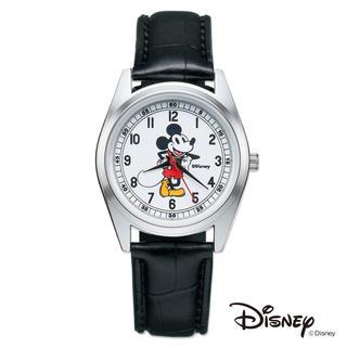 ミッキーマウス(ミッキーマウス)の【otona MUSE 2019年7月付録】ミッキーマウス 大人の腕時計(未開封(腕時計)