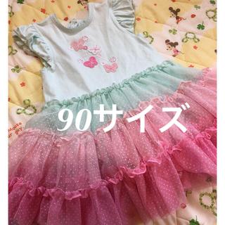リトルミー(Little Me)のベビードレス 女の子 90サイズ 24m(ドレス/フォーマル)