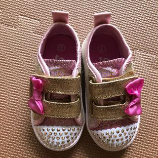 SKECHERS - スケッチャーズ 光る靴 US6 13cm 日本未発売 美品