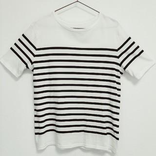 アウトドアプロダクツ(OUTDOOR PRODUCTS)のOUTDOOR PRODUCTS ZORO STAIN汗染み防止ボーダーTシャツ(Tシャツ/カットソー(半袖/袖なし))