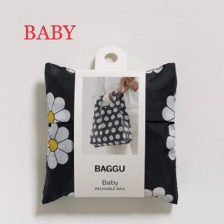 ビームス(BEAMS)の【新品未使用】BAGGU ベビー/ブラックデイジー(エコバッグ)