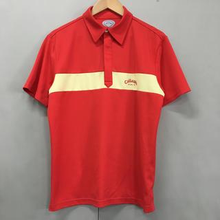 キャロウェイゴルフ(Callaway Golf)の【美品・良品】キャロウェイ Callaway ゴルフ GOLF 半袖 ポロシャツ(ウエア)