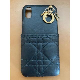 ディオール(Dior)のDior ladydior iPhone X case♡(7/18限定価格)(iPhoneケース)