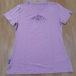 マムート(Mammut)のMAMMUT Tシャツ(レディース ピンク)(Tシャツ(半袖/袖なし))