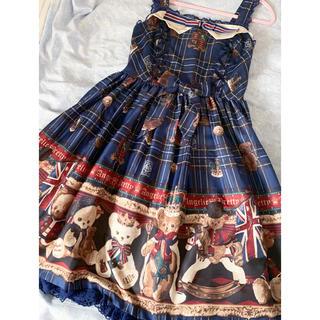 アンジェリックプリティー(Angelic Pretty)のすぴか様専用BritishBear ジャンバースカート(その他)