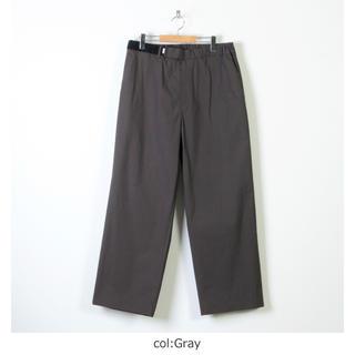 コモリ(COMOLI)のGraphpaper Wide Cook Pants  ワイドコックパンツ(スラックス)