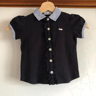 セリーヌ(celine)の美品 セリーヌ CELINE トップス 100 カットソー  ブラウス (Tシャツ/カットソー)