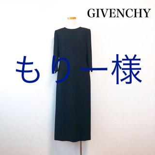 ジバンシィ(GIVENCHY)のGIVENCHY ブラックフォーマル ワンピース 冠婚葬祭 東京ソワール 上品(礼服/喪服)