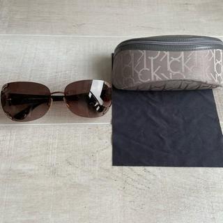 カルバンクライン(Calvin Klein)のカルバンクライン CK サングラス レディース ケース(サングラス/メガネ)