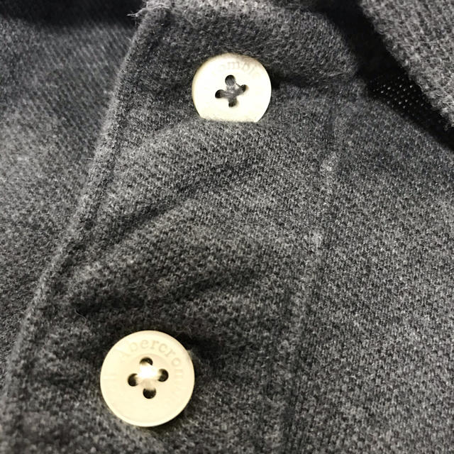 Abercrombie&Fitch(アバクロンビーアンドフィッチ)の【良品】アバクロ Abercrombie & Fitch ヘラジカ ポロシャツ メンズのトップス(ポロシャツ)の商品写真