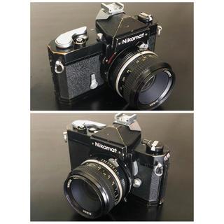 ニコン(Nikon)のNikoNikkomat FTブラック/NIKKOR 50mm f2 動作品(フィルムカメラ)