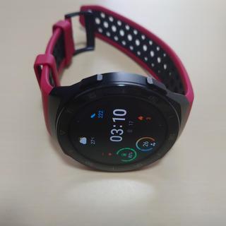 Huawei Watch GT2e レッド 美品 WWE様専用品(腕時計(デジタル))