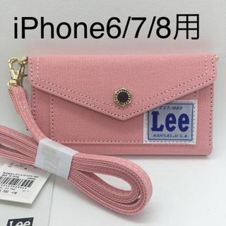 サミールナスリ(SMIR NASLI)の新品 Lee×SMIRNASLI iPhoneケース 6/7/8対応 ピンク(iPhoneケース)