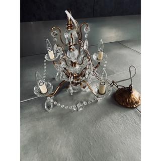 アンティーク シャンデリア キャンドル ライト ランプ 美容室 カフェ ランタン(天井照明)