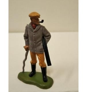 猟銃をもつ男  フィギュア人 ブリテン  1971年ヴィンテージ イギリス製 (その他)
