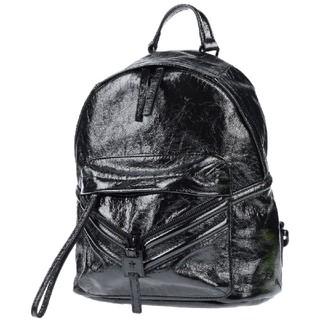 ディーゼル(DIESEL)の新品 DIESEL ディーゼル  ブラック レザー リュック タグ・巾着袋付き(リュック/バックパック)