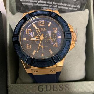ゲス(GUESS)のGUESS ゲスウォッチ メンズ 腕時計 100m防水 美品 稼働品(腕時計(アナログ))