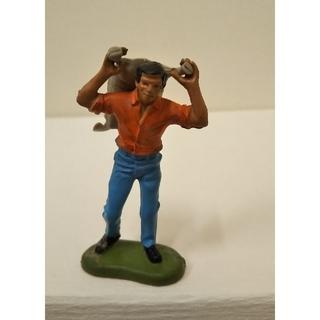 働く男性 Bフィギュア人 ブリテン  1972年ヴィンテージ イギリス製(その他)