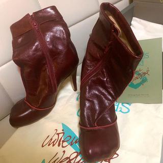 ヴィヴィアンウエストウッド(Vivienne Westwood)の最終セール ワールズエンド限定 アニマルトゥ ウィンターカフブーツ(ブーツ)