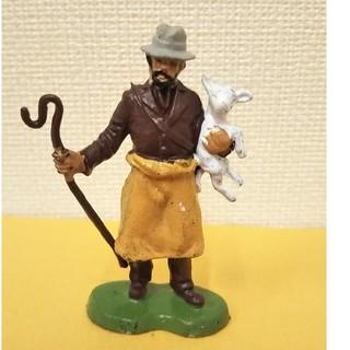 羊飼いフィギュア人 ブリテン  1971年ヴィンテージ イギリス製(その他)