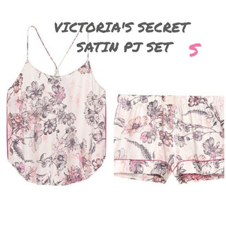 Victoria's Secret - ヴィクトリアシークレット サテン PJセット S