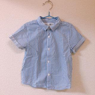ザラ(ZARA)のzara baby ★ ザラベビー ストライプ半袖シャツ 92cm(ブラウス)