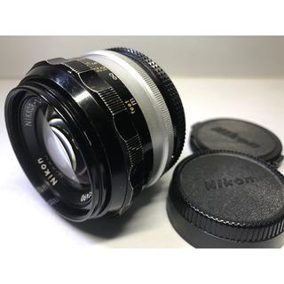 ニコン(Nikon)のニコン NIKKOR-S.C Auto 50mm F1.4 (Ai改造)(フィルムカメラ)