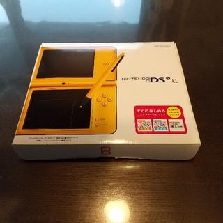 ニンテンドーDS(ニンテンドーDS)の任天堂 DSI LL 本体 イエロー(携帯用ゲーム機本体)