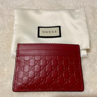 グッチ(Gucci)のGUCCI カードケース 新品(名刺入れ/定期入れ)