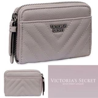 ヴィクトリアズシークレット(Victoria's Secret)のヴィクトリアシークレットミニウォレットグレー(コインケース)