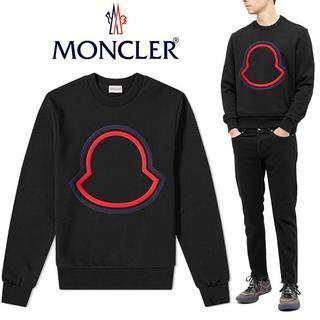 モンクレール(MONCLER)の22 MONCLER プルオーバー ロゴ トレーナー スウェット size S(スウェット)