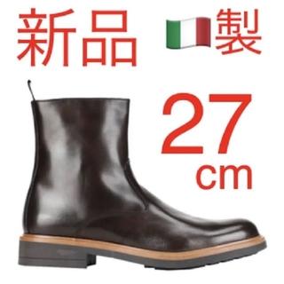 サンローラン(Saint Laurent)の新品❗️LEONARDO PRINCIPI  ダークブラウン 牛革100%(ブーツ)