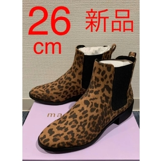 ジョンローレンスサリバン(JOHN LAWRENCE SULLIVAN)の新品❗️MADDEN GIRL 豹柄レオパード 26cm(ブーツ)