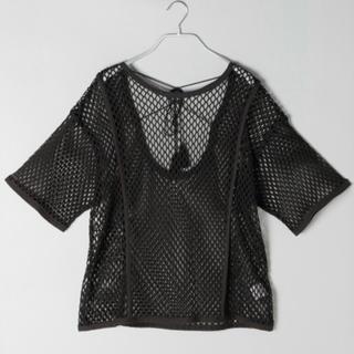 ジーナシス(JEANASIS)のバックムスビメッシュプルオーバー(Tシャツ(半袖/袖なし))