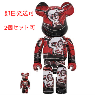 メディコムトイ(MEDICOM TOY)のBE@RBRICK JEAN-MICHEL BASQUIAT 100%&400%(その他)