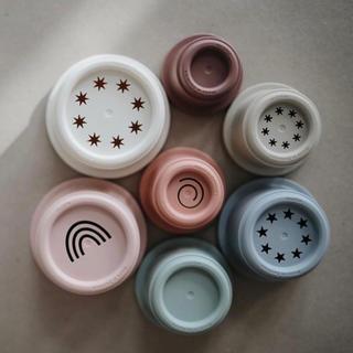 Mushie / スタッキングカップ(知育玩具)