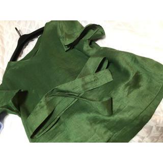 デプレ(DES PRES)のアナカ  リネン100(カットソー(半袖/袖なし))
