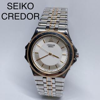 セイコー(SEIKO)のセイコー クレドール パシフィーク 8J81-6A20 K18YG×SS メンズ(腕時計(アナログ))