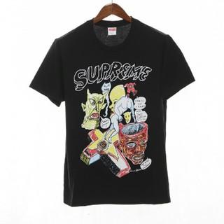 シュプリーム(Supreme)のSupreme  Tシャツ/カットソー 半袖/袖なし  ブラック(Tシャツ(半袖/袖なし))